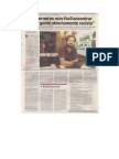 Entrevista en Tiempo Argentino sobre tema comentarios en medios digitales