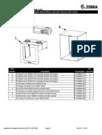 ZE500 Series - Parts List [2016]