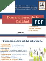 Dimensiones de La Calidad 6to Exposicion