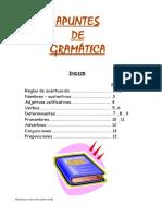 Apuntes de Gramatica 6 Primaria
