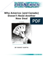 Why America (and Canada) Doesn't Need Another New Deal