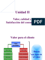Unidad 2 Valor Calidad y Satisfacción del consumidor - GM