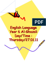 The Simple Present Tense-year 6