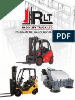Ri-Go Lift Truck Ltd. Catalog