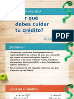 Cuida Tu Credito Salud Financiera Porque Debes Cuidar Tu Credito