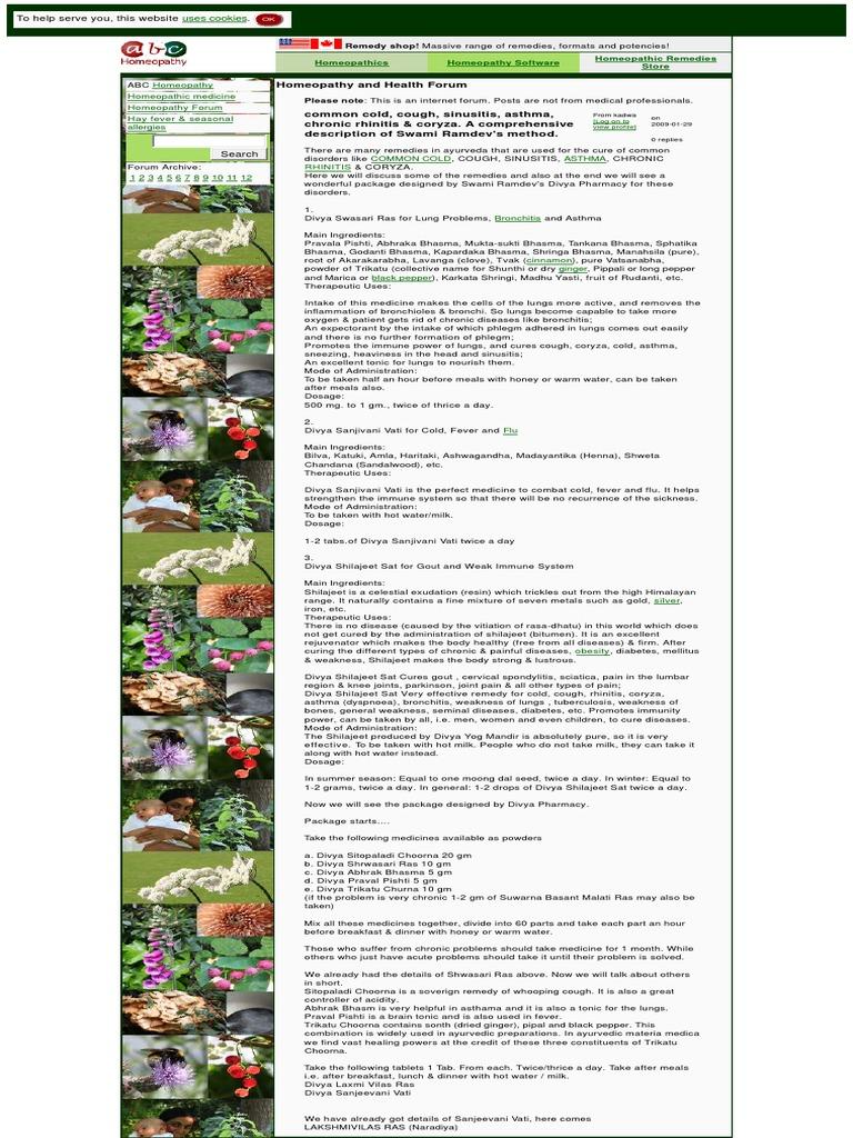 cwa5x1t pdf | Homeopathy | Cough