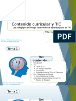# Tema 1 Gestion Curricular TICs. 1raParte