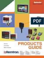 Autonics Product Guide 2013