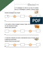 Problemas Matemática 8