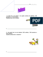 Problemas Matemática 7