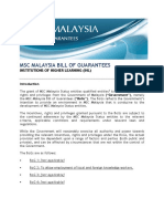Msc Malaysia Bill of Guarantees -Ihl Booklet v.1
