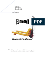 Transpaleta Manual Economy