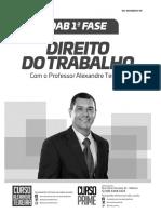 Apostila Oab - Direito Trabalho 2017.PDF