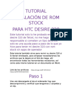 Tutorial Htc Desire 320