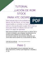 Tutorial Htc Desire 320