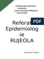 referat epidemiologie