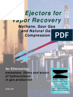 FOX Ejectors for Vapor Recovery