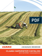 Cla as Harvester Parts Catalogue