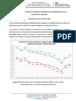 Pobreza e Indigencia Misiones Segundo Semestre 2016