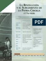 UNIDAD 1 - LA REVOLUCIÓN Y EL SURGIMIENTO DE LA PATRIA CRIOLLA (1776-1820).pdf