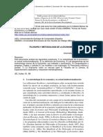 Mäki Filosofia y Metodologia de La Economia