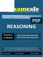 Reasoning Practice Set 1 for Bank PO pdf | Subsidy | Poverty