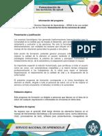 Informacion Del Programa Humanizacion de Los Servicios de Salud
