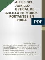 Analisis Del Ladrillo Industrial de Arcilla en Muros (1)