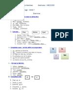 Unidad 1 de Francés Virtual UASD