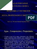 CLASE 01 -AGUA Bioquimica