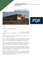 Mises Brasil - O Livre Comércio Não Destrói Empregos; Quem Destrói Empregos São Os Consumidores