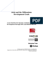 Debt and the Millennium Development Goals
