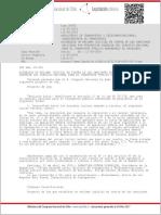 Ley No 20432 de 11 de mayo de 2010