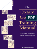 The Oxfam Gender Training Manual