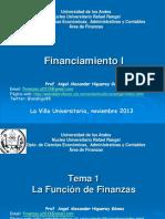 1 Prese Financiamiento 1 Tema 1