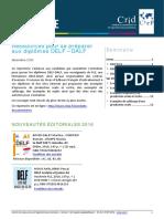 Ressources de Preparation Aux Certifications Delf Dalf