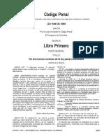 Codigo Penal Libro Primero Parte General
