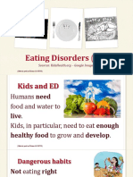 eating disorders  ed