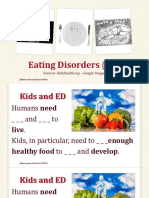 eating disorders  ed  - fill in the gaps