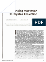 Enhancing Motivation in PE-JOPERD