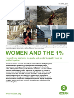 Women and the 1%