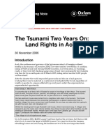 The Tsunami Two Years On