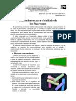 Lineamientos Cuidados Pizarrón 2014