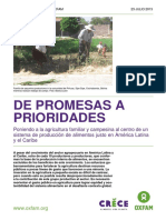From Promises to Priorities