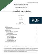 Air Strike Rules