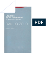 Danilo Zolo-La Justicia de Los Vencedores (2007)