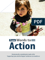 From Words to Action