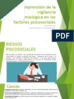 Evidencia 10 Comprensión de La Vigilancia Epidemiológica en Los Factores Psicosociales