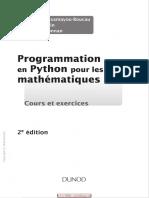 Programmation en Python pour les mathématiques _ cours et exercices.pdf