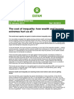 The Cost of Inequality